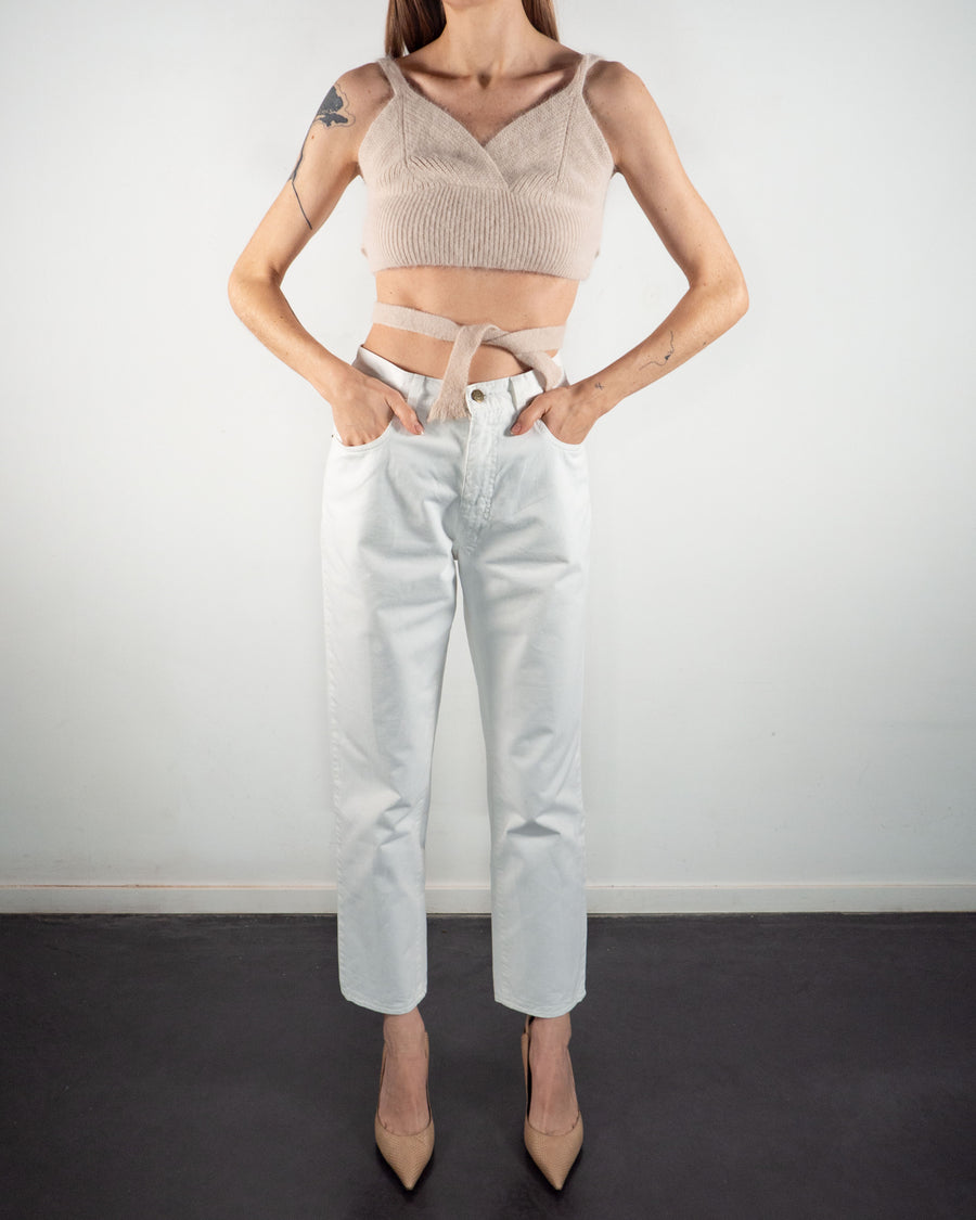 Wool Cropped Top