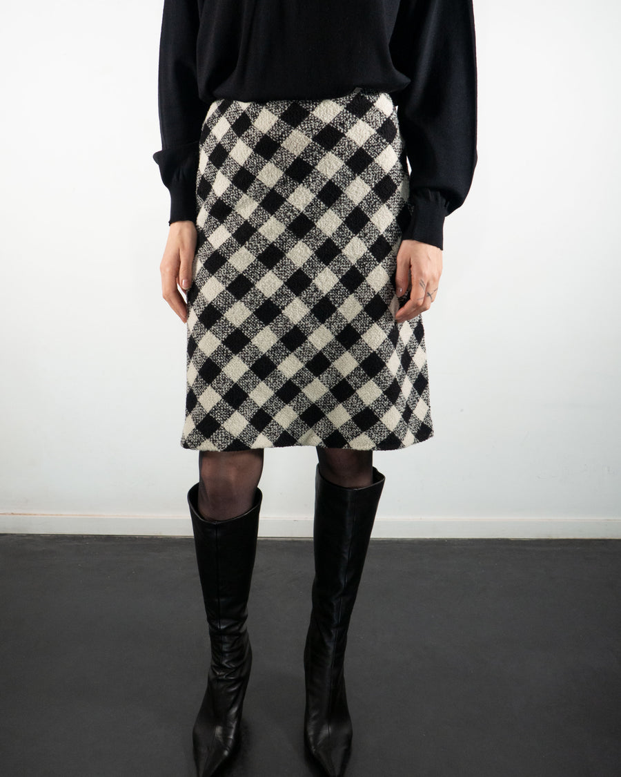 Wool Knitted Skirt
