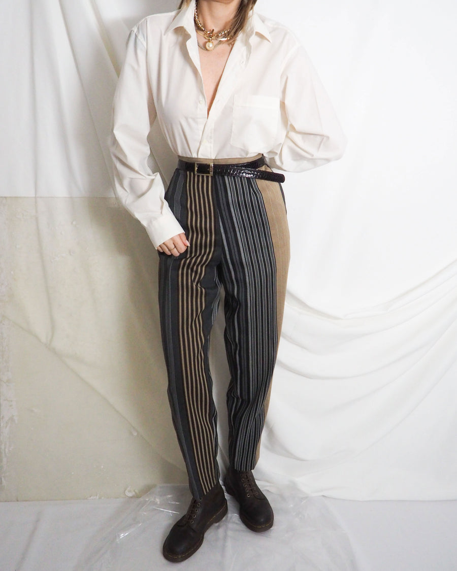 Kookai Striped Trousers - Untitled 1991