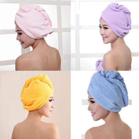Quick Dry Microfiber Hair Wrap