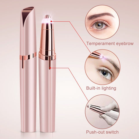 Precision Eyebrow Epilator – Easily Shape Perfect Eyebrows
