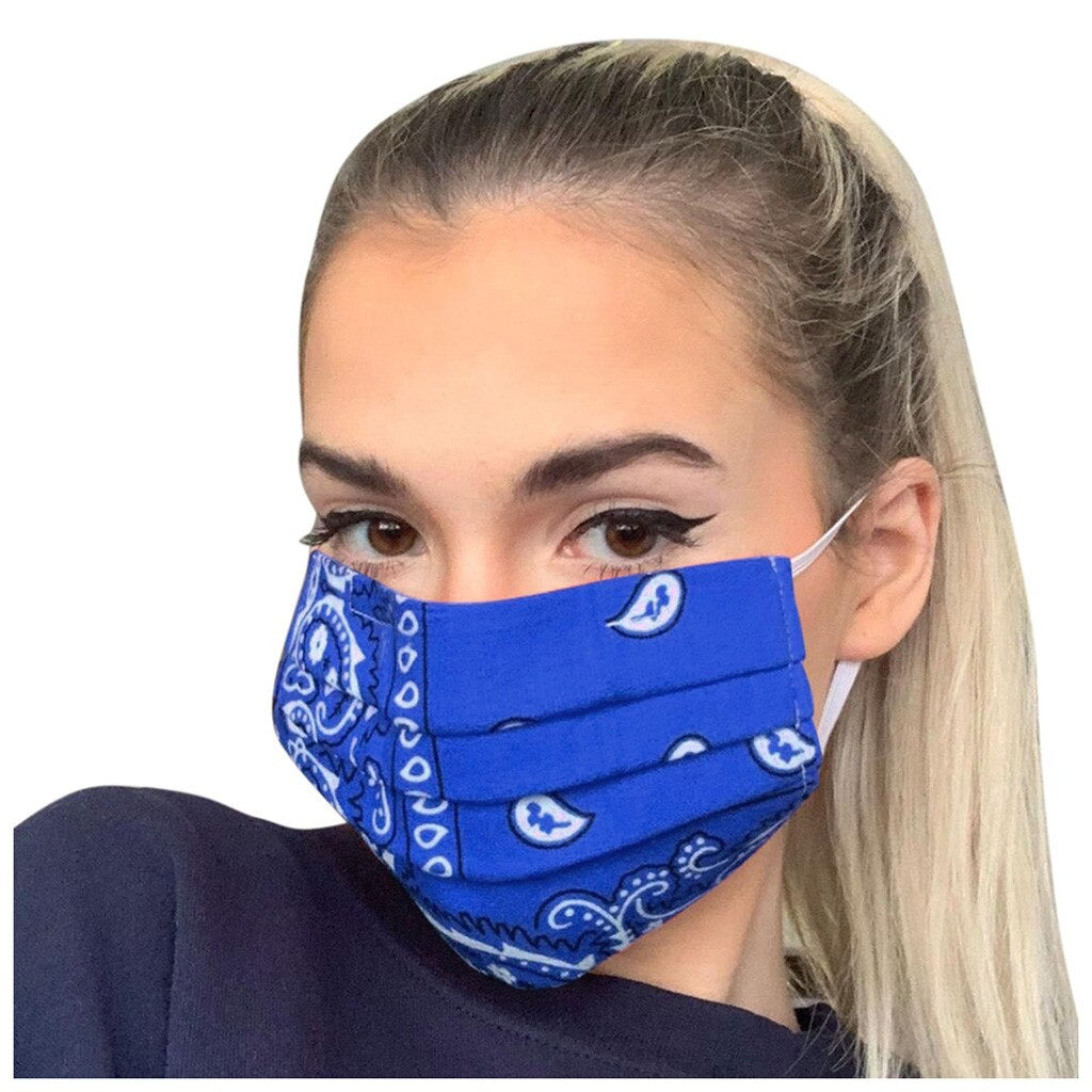FaceShield® Bandana - Blue-Masks New Zealand | Free Shipping | Masks.co.nz