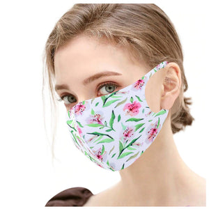 FaceShield® Washable - Hibiscus-Masks New Zealand | Free Shipping | Masks.co.nz