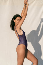 Load image into Gallery viewer, Purple Swimsuit