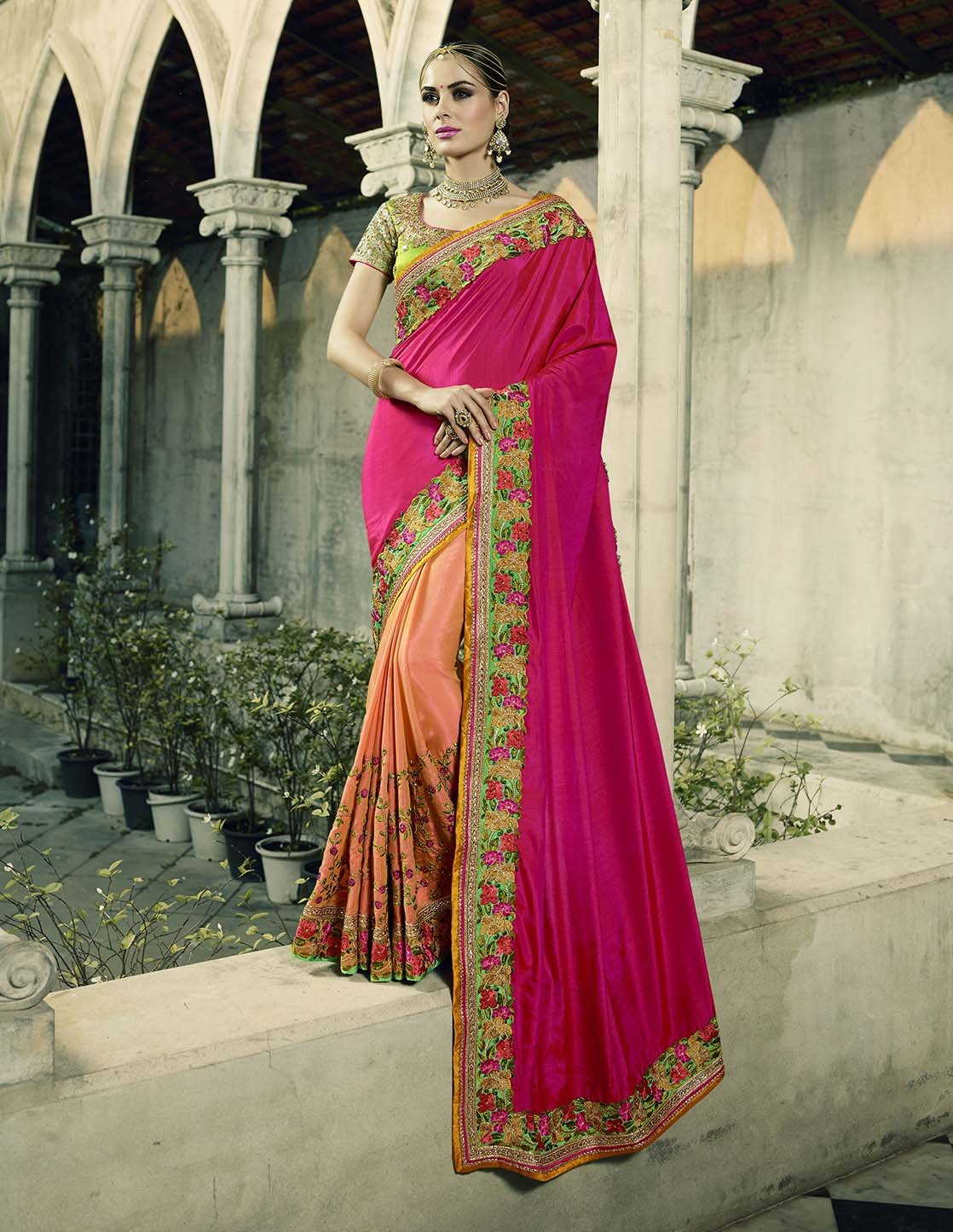 Beautiful Trendy Saree  10006