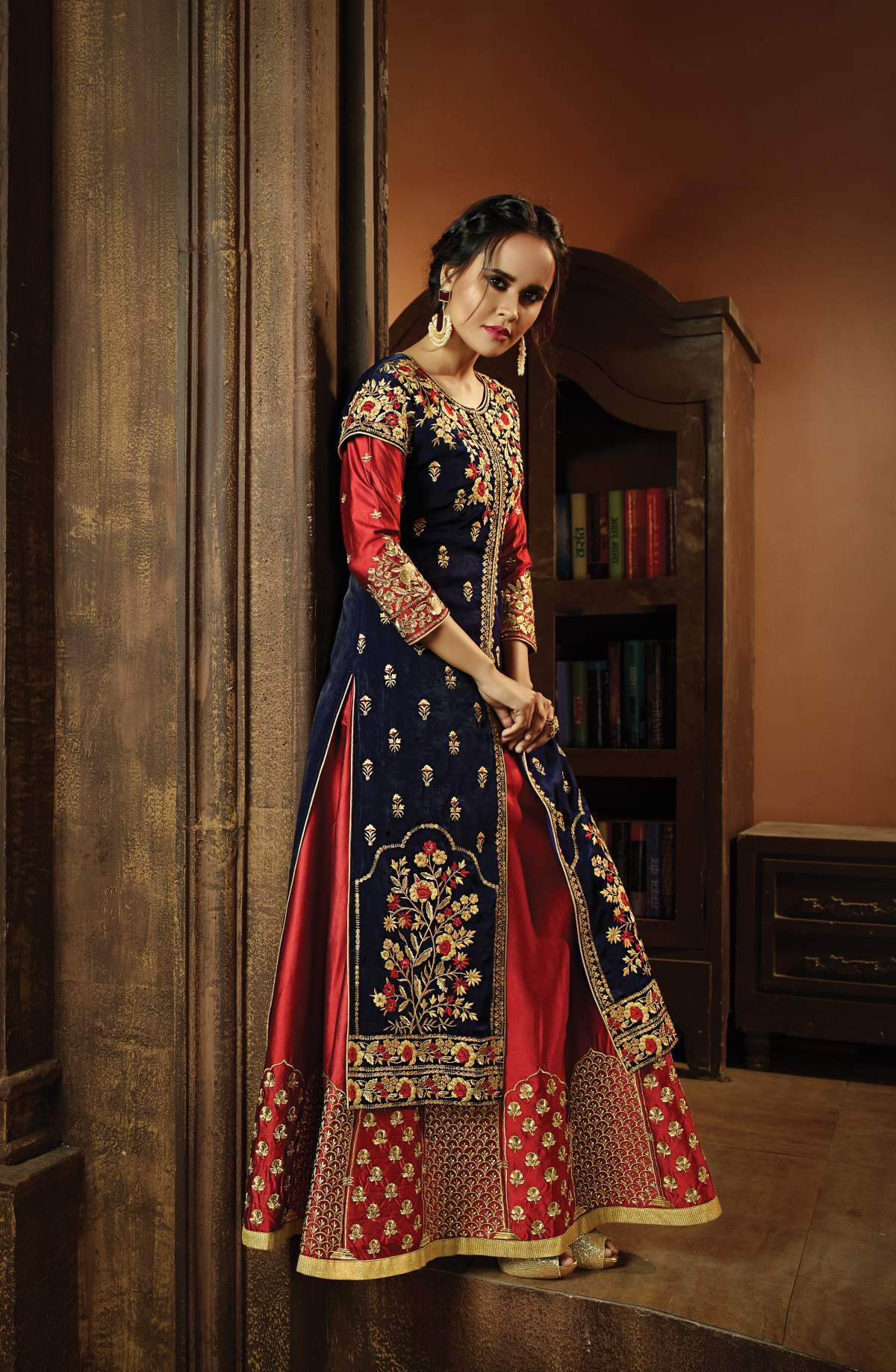Buy Oracle Present Georgette Party Charming Trendy Salwar-kameez 30016