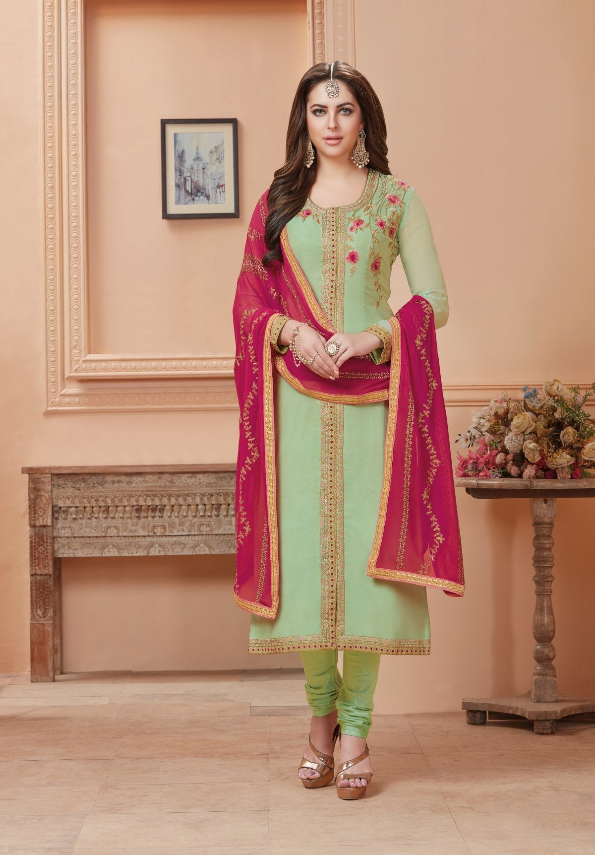 Latest Trendy Salwar-kameez 30119