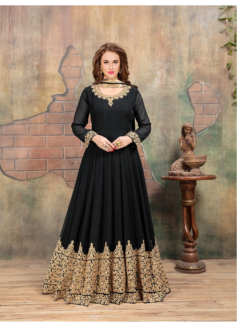 Exclusive Trendy Black Salwar-kameez 30226