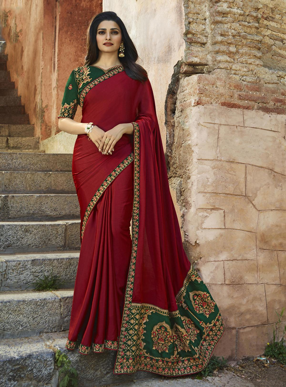 Sangeet Wear Trendy Saree  10421