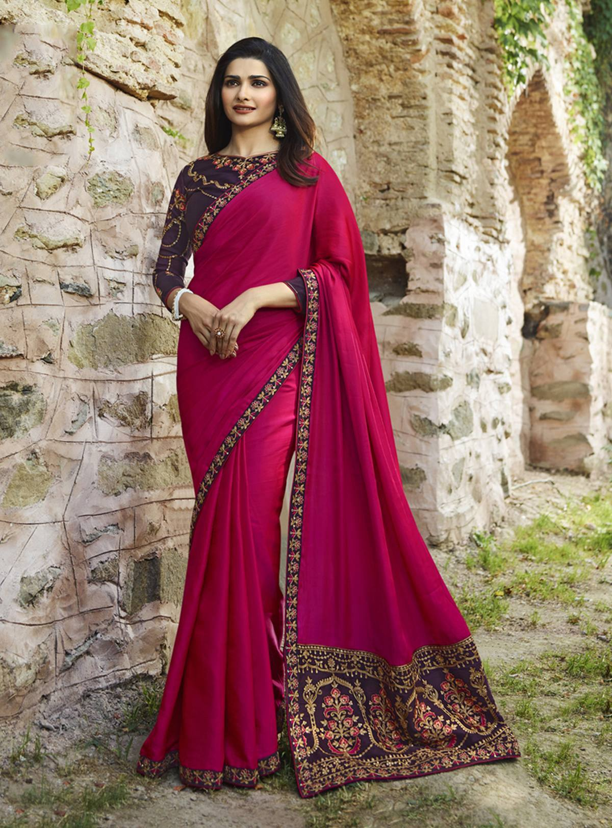 Party Wear Trendy Saree  10418