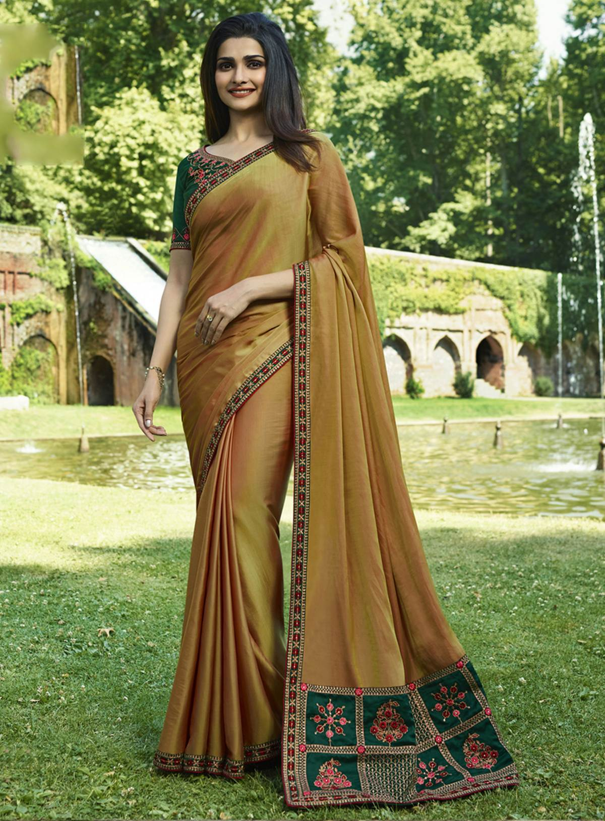 Designer Trendy Saree  10417