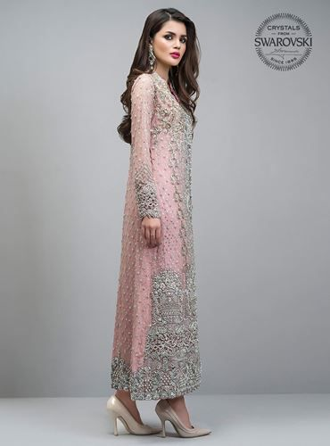 Buy Engagement Trends English Pink Bridal Salwar Kameez 25025