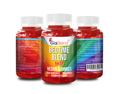 Bedtime Blend Gummies with 5HTP & Lemon Balm