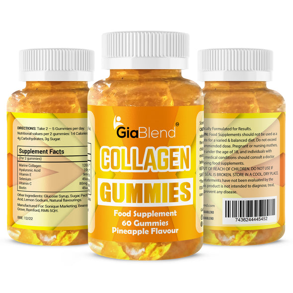 Super Collagen Gummies with Hyaluronic Acid
