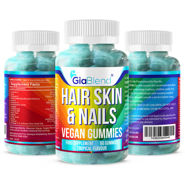 Hair, Skin & Nails Vitamin Gummies