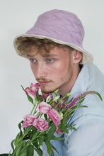 Load image into Gallery viewer, BOB x HANOM PURPLE MACARON TWO-SIDED BUCKET HAT