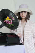 Load image into Gallery viewer, BOB x HANOM Champagne CRÈME BRÛLÉE Two-Sided Wide Bucket Hat