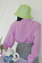 Load image into Gallery viewer, BOB x HANOM Green MACARON Two-Sided Bucket Hat