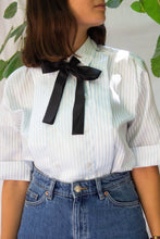 Load image into Gallery viewer, VINTAGE FRENCH CHEF STRIPED BLOUSE