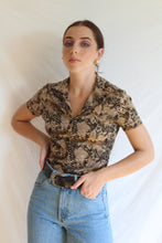 Load image into Gallery viewer, VINTAGE UNSNAKE STRETCHY TOP