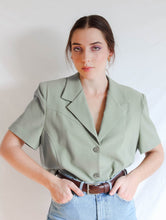 Load image into Gallery viewer, VINTAGE SALUTE RELAXED SHORT BLAZER