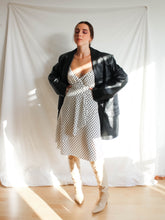 Load image into Gallery viewer, Vintage Y2K Do's & Dots Polka Dot Midi Dress (S)