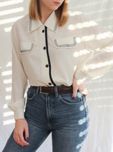 Load image into Gallery viewer, Vintage 80's French Western Blouse (M)
