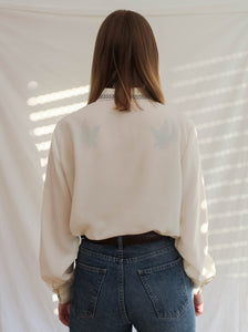 Vintage 80's French Western Blouse (M)
