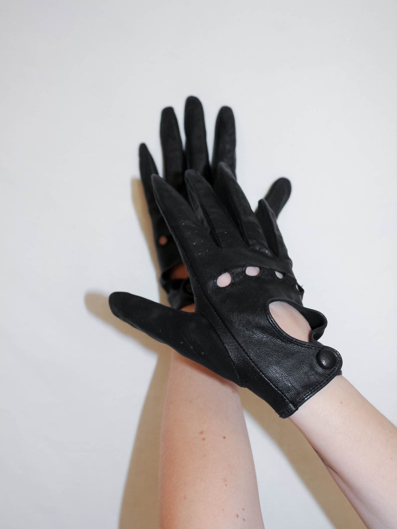 VINTAGE DON'T MESS WITH ME GLOVES