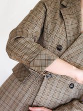 Load image into Gallery viewer, Vintage 90's Check It Out Blazer (S)