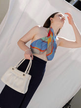 Load image into Gallery viewer, Vintage 80's White Cream Leather Shoulder Bag