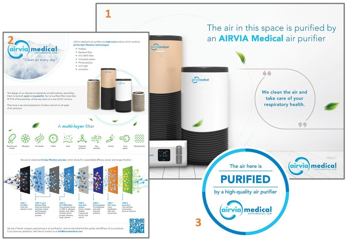 Communication pack - Airpurifier.co.uk