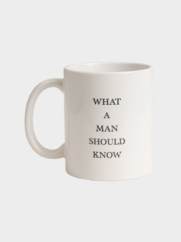 What A Man Should Know Cup x S.T. VALENTIN