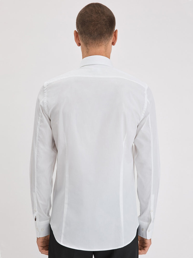 Paul Stretch Shirt | White