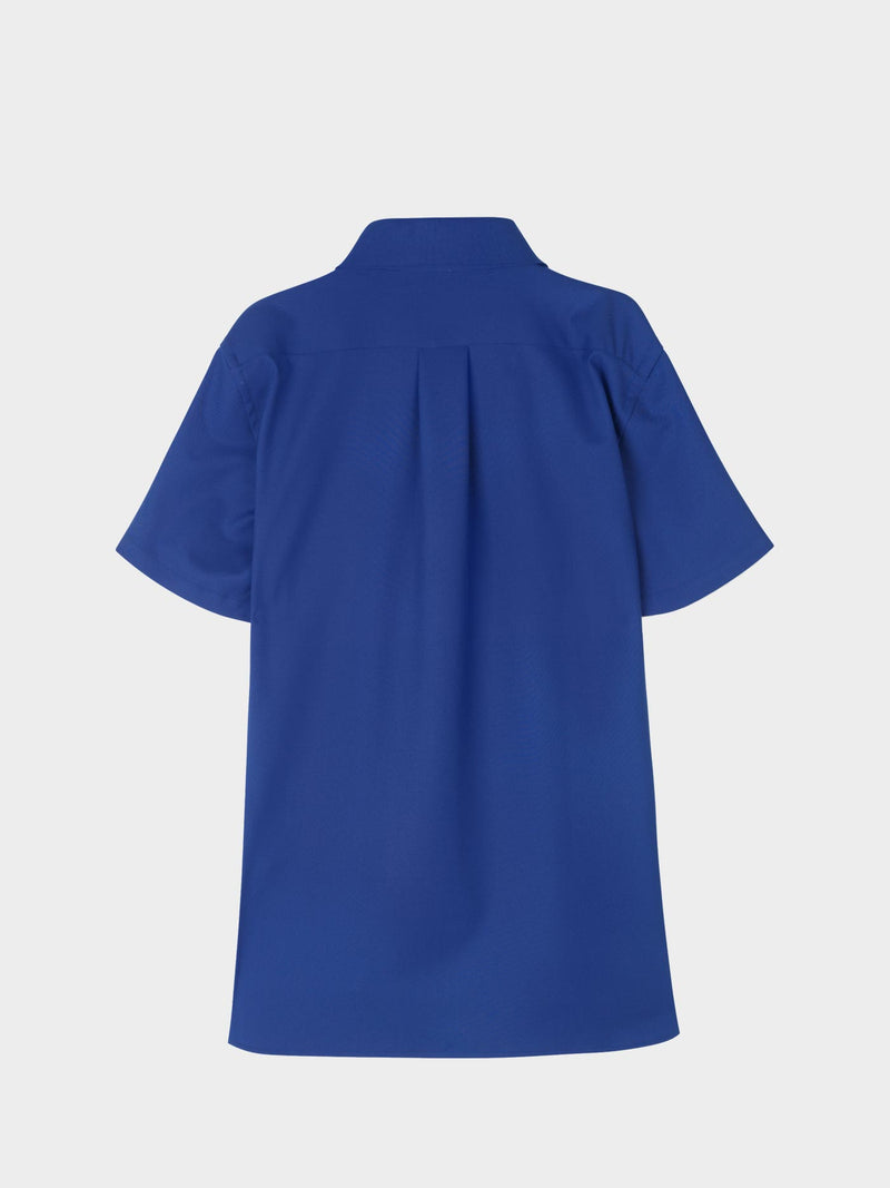 Cave Short Sleeve Shirt | Electric Blue