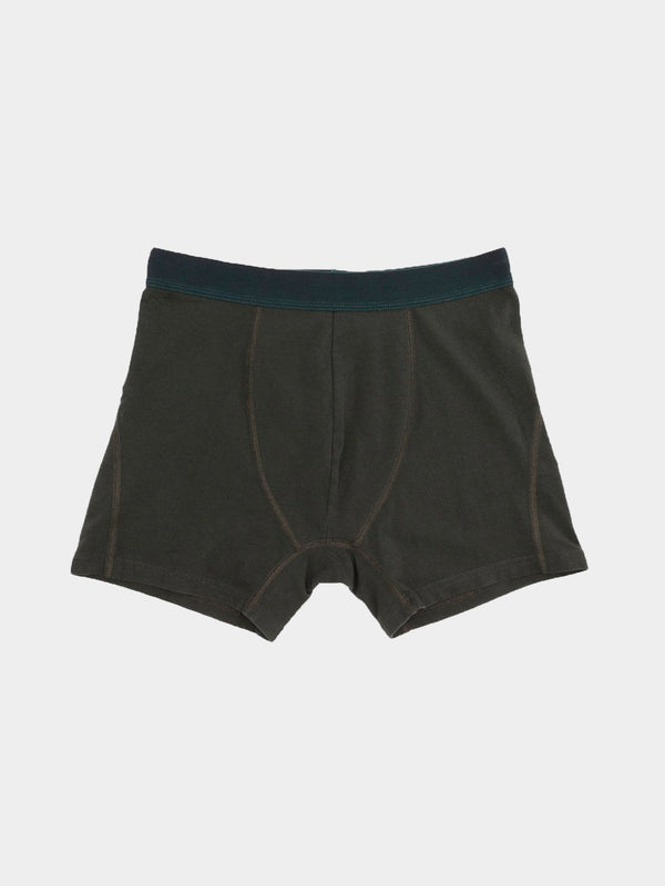 Classic Organic Boxer Briefs | Hunter Green