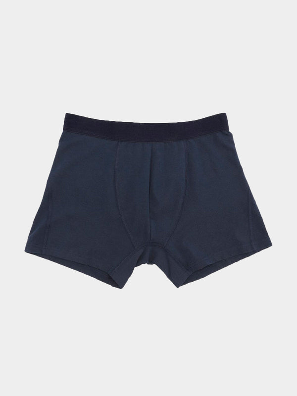 Classic Organic Boxer Briefs | Navy Blue