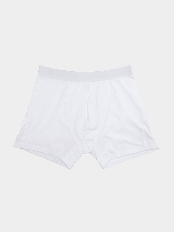 Classic Organic Boxer Briefs | Optical White