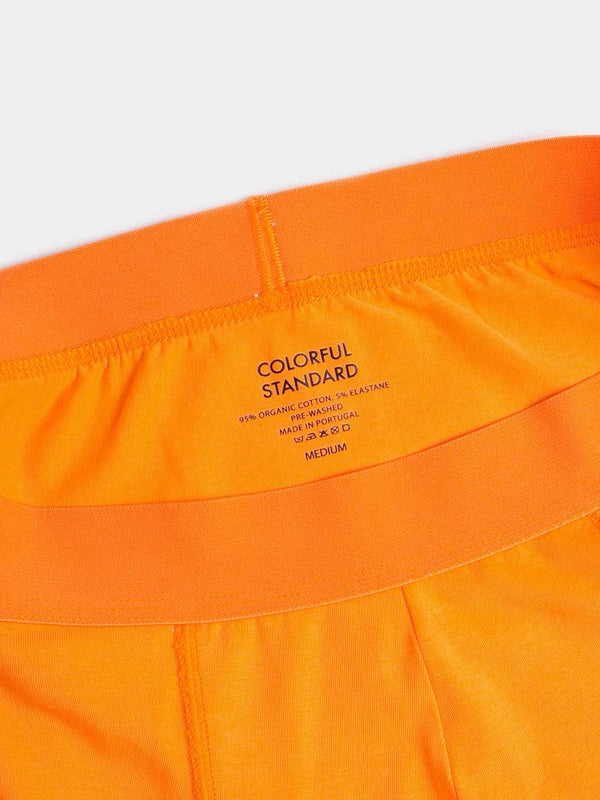 Classic Organic Boxer Briefs | Sunny Orange