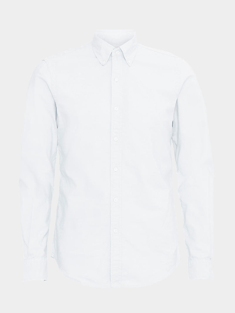 Classic Organic Button Down Shirt | Optical White