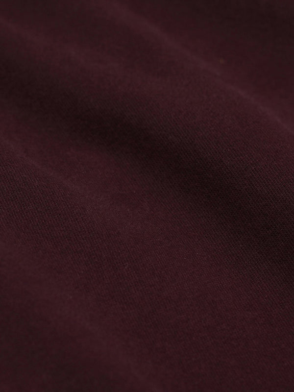 Classic Organic Tee | Oxblood Red