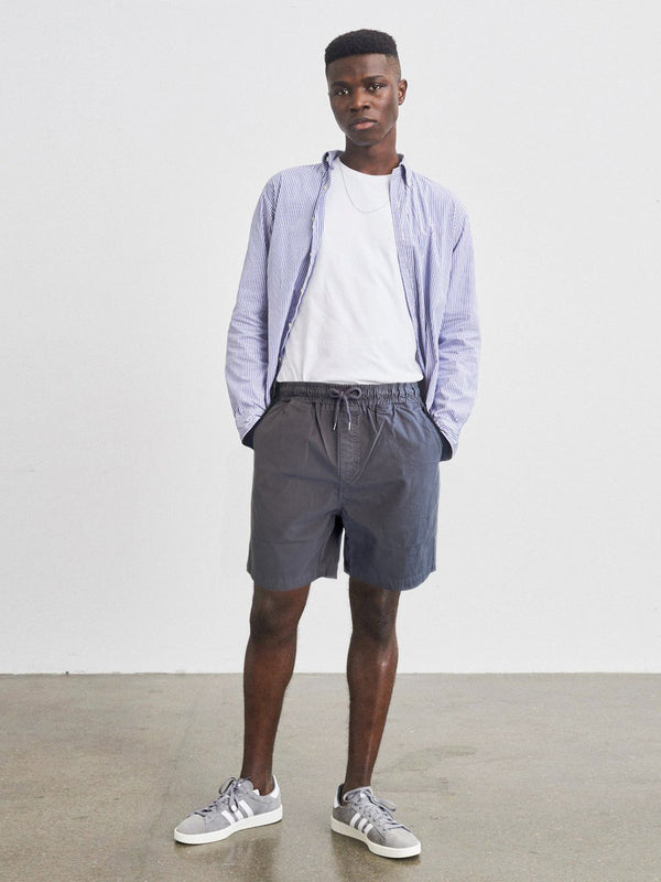 Organic Twill Shorts | Dusty Olive