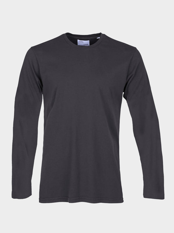 Classic Organic Long Sleeve Tee | Lava Grey