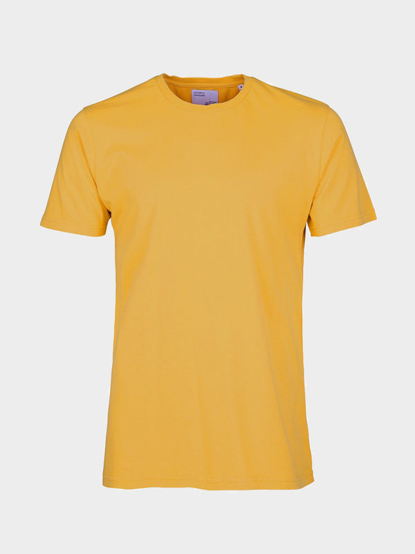 Classic Organic Tee | Burned Yellow