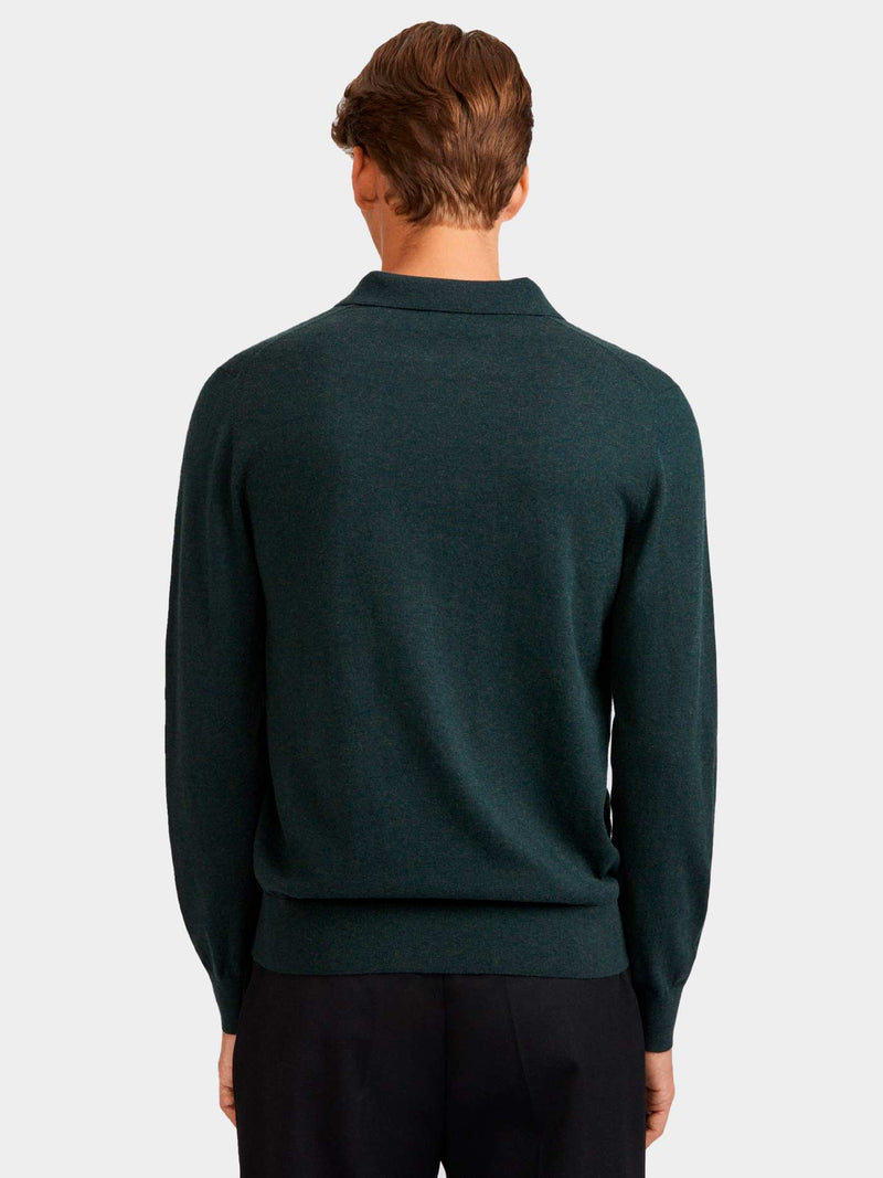 Lars Sweater | Dark Spruce Melange
