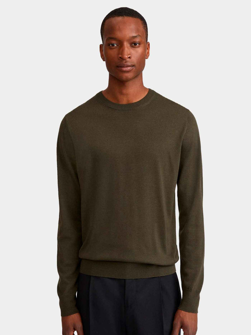 Merino Sweater | Pine Green