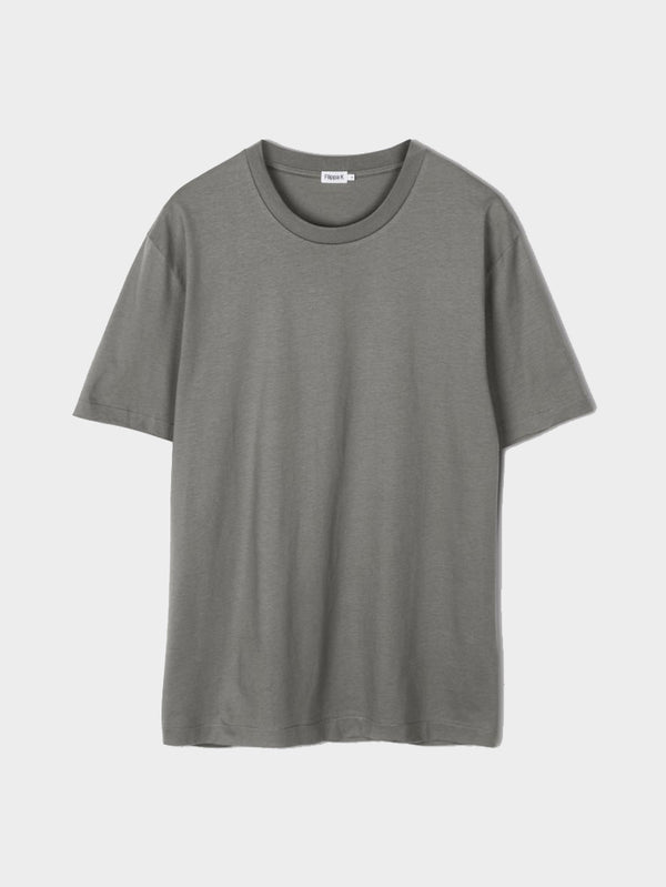 Single Jersey Tee | Green Grey