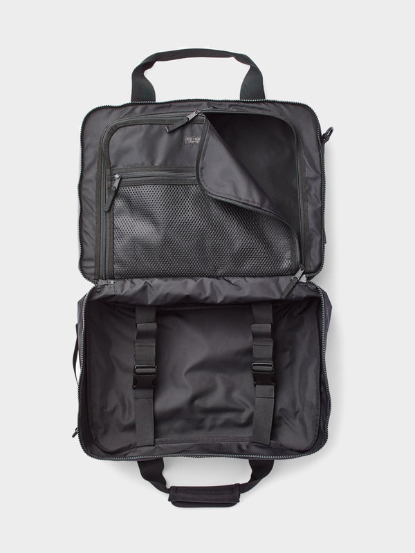 Ripstop Nylon Pullman Bag | Black