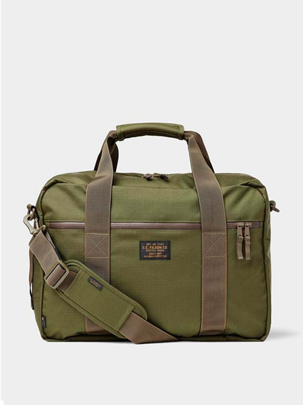 Ripstop Nylon Pullman Bag | Surplus Green
