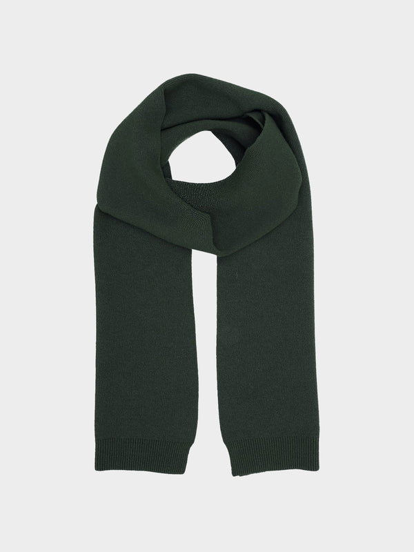 Merino Wool Scarf | Hunter Green